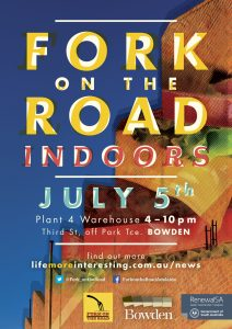 Bowden Fork – 5 July 2014 – Indoors