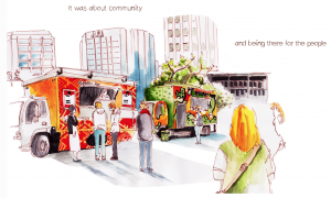 The illustrated story of Adelaide's Food Trucks!!