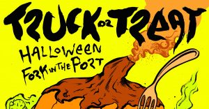 Truck or Treat – Halloween Fork in the Port
