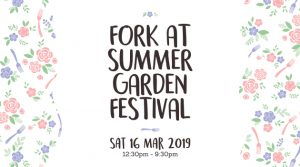 Fork at the Summer Garden Festival 2019